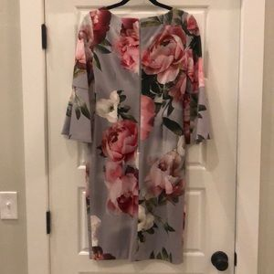 Calvin Klein Dresses - Floral Sheath Dress